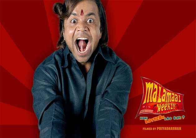 Malamaal Weekly Rajpal Yadav Poster
