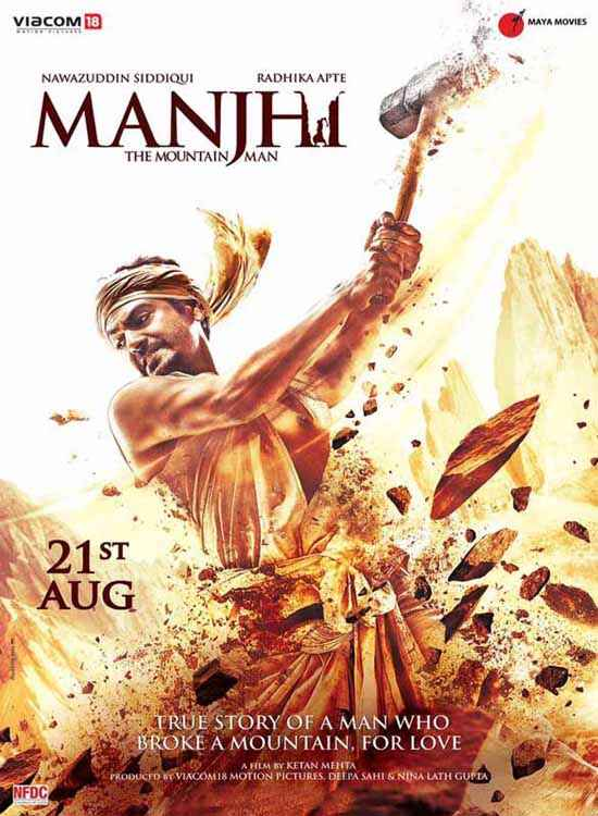 Manjhi The Mountain Man Nawazuddin Siddiqui Poster