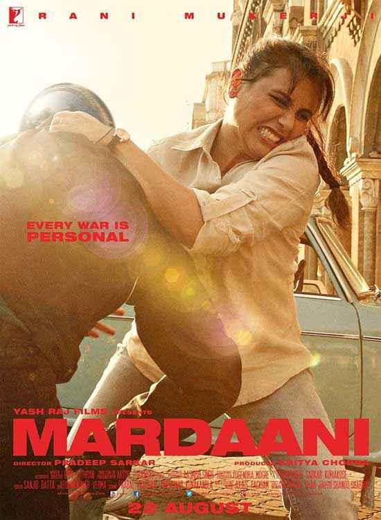 Mardaani Rani Mukerji Image Poster