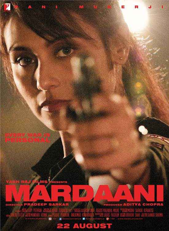 Mardaani Rani Mukerji Poster