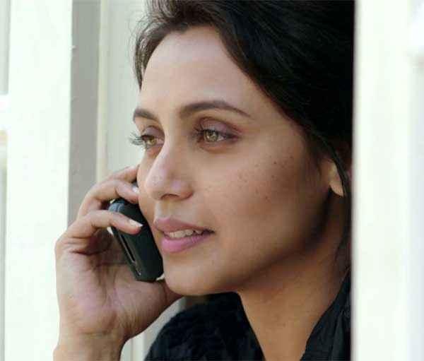 Mardaani Rani Mukerji Eyes Stills