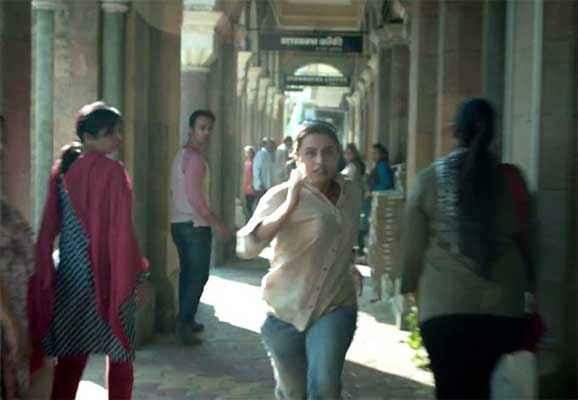 Mardaani Rani Mukerji Runing Pics Stills