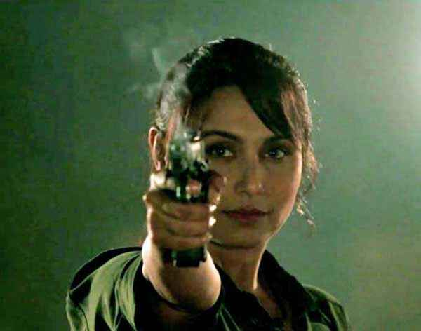 Mardaani Rani Mukerji With Gun Stills