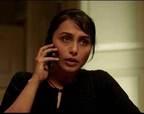 Mardaani Rani Mukerji With Mobile Stills