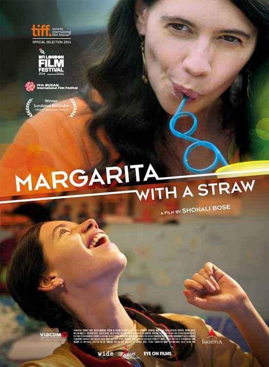 Margarita with a Straw Kalki Koechlin Poster
