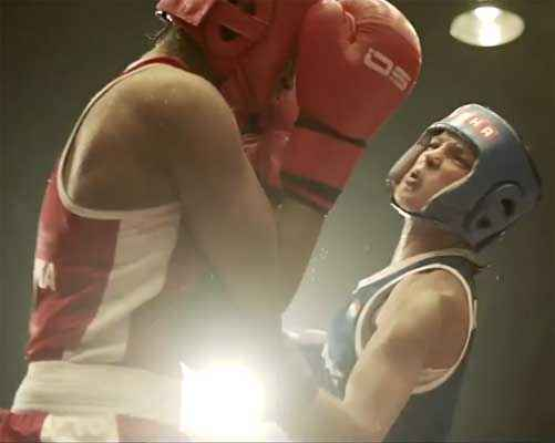Mary Kom Boxing Pics Stills