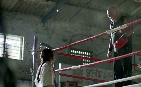 Mary Kom Boxing Stage Stills