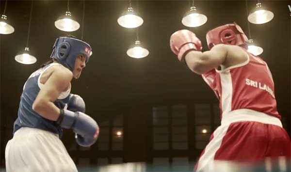 Mary Kom Priyanka Chopra Boxing Scene Stills