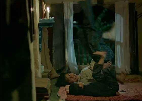 Mary Kom Priyanka Chopra Exercise With Child Stills