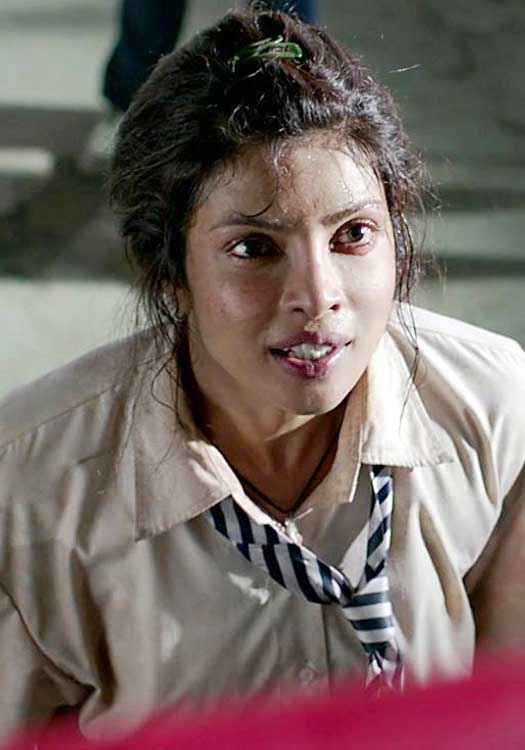 Mary Kom Priyanka Chopra In School Dress Stills