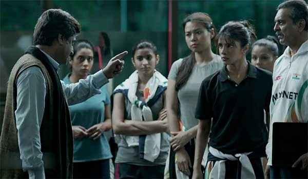 Mary Kom Priyanka Chopra With Team Stills