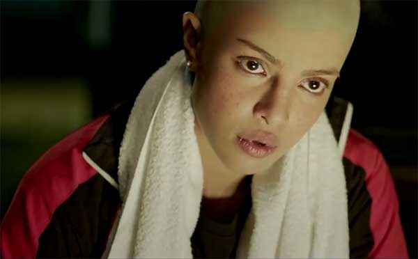 Mary Kom Priyanka Chopra Without Head Hair Stills