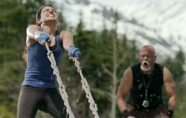 Mary Kom Sunil Thapa And Priyanka Chopra Exercise Stills