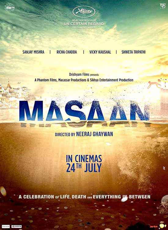 Masaan Image Poster