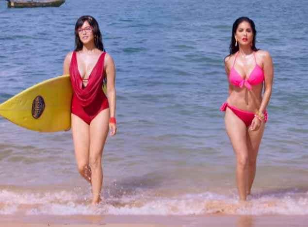 Mastizaade Sunny Leone as Lily And Laila In Bikini Stills