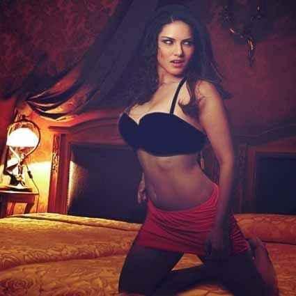 Mastizaade Sunny Leone Hot Night Dress Stills