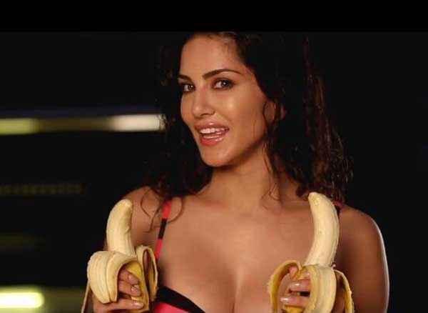 Mastizaade Sunny Leone Hot Scene With Banana Stills