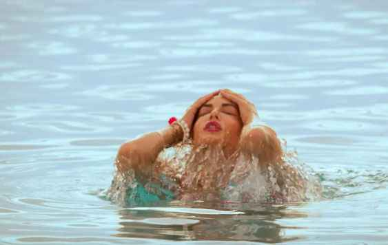 Mastizaade Sunny Leone In Water Photo Stills