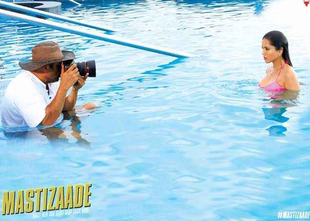 Mastizaade Sunny Leone Water Photo Shoot Stills