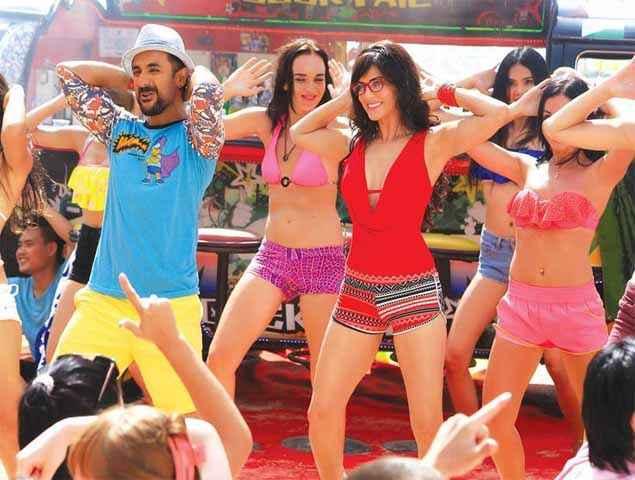 Mastizaade Vir Das Sunny Leone Dance Steps Stills