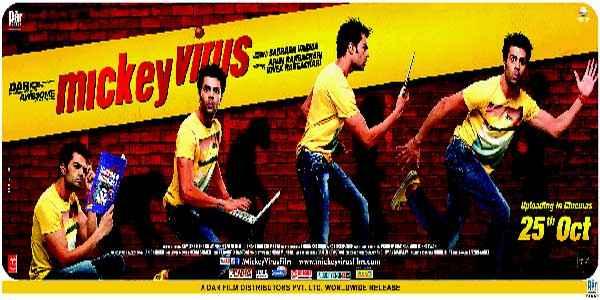 Mickey Virus Image Poster
