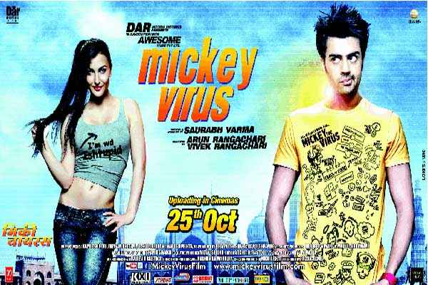 Mickey Virus Manish Paul Elli Avram Poster