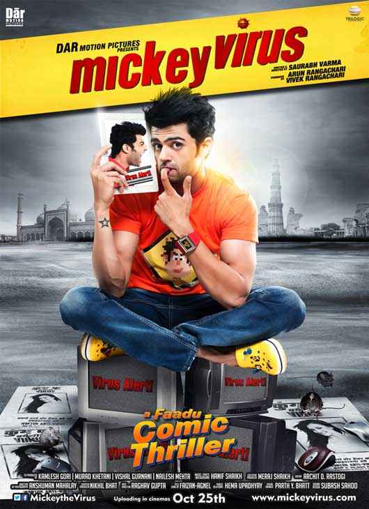 Mickey Virus Manish Paul New Poster
