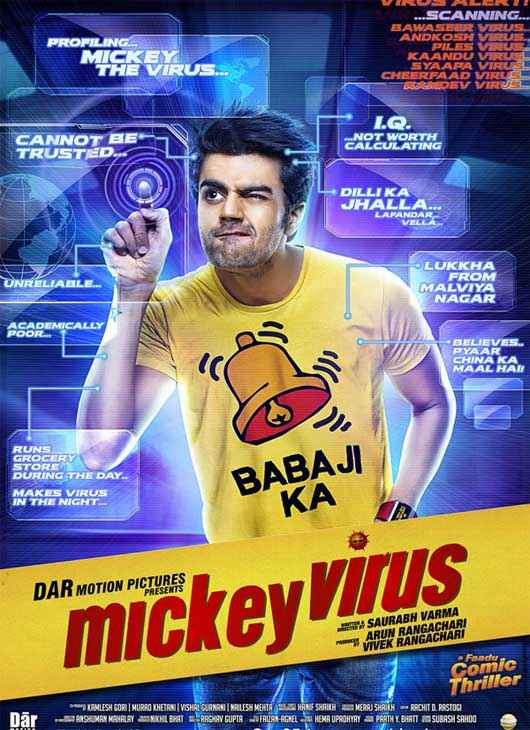 Mickey Virus Manish Paul Wallpaper Poster