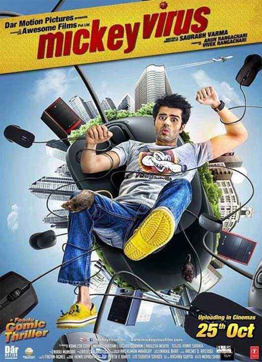 Mickey Virus Manish Paul Poster