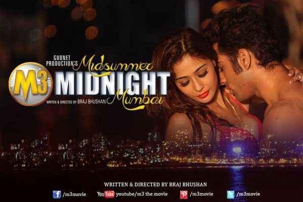 Midsummer Midnight Mumbai Paras Chhabra Sara Khan Hot Scene Poster