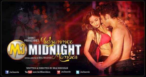 Midsummer Midnight Mumbai Paras Chhabra Sara Khan Hot Poster