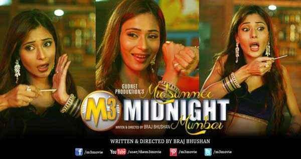 Midsummer Midnight Mumbai Sara Khan Multiple Role Poster
