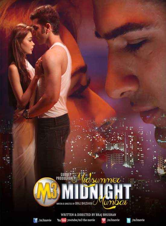 Midsummer Midnight Mumbai Sara Khan Paras Chhabra Romance Poster
