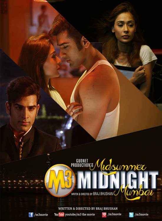 Midsummer Midnight Mumbai Sara Khan Paras Chhabra Poster