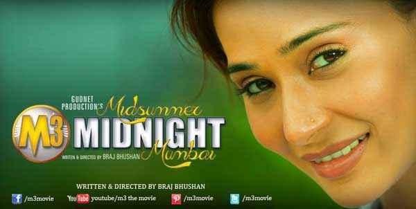 Midsummer Midnight Mumbai Sara Khan Poster