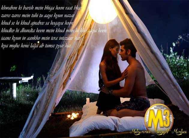 Midsummer Midnight Mumbai Paras Chhabra Sara Khan Hot Bed Scene Stills