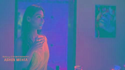 Midsummer Midnight Mumbai Sara Khan With Drink Stills