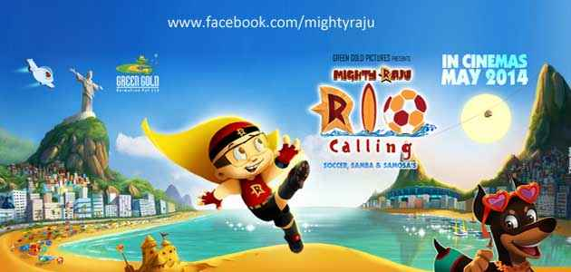 Mighty Raju Rio Calling First Look Poster