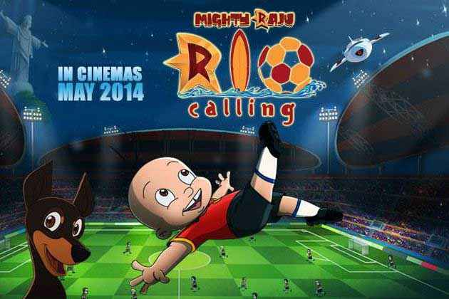 Mighty Raju Rio Calling Wallpaper Poster