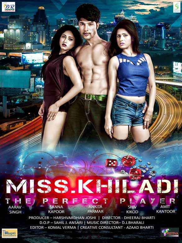 Miss Khiladi - The Perfect Player  Poster