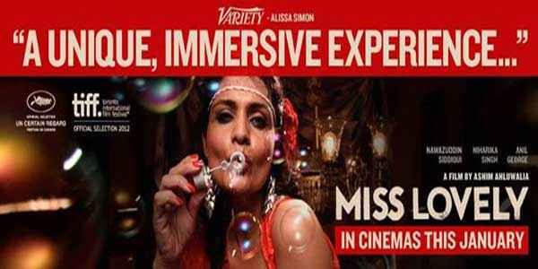 Miss Lovely Hot Poster