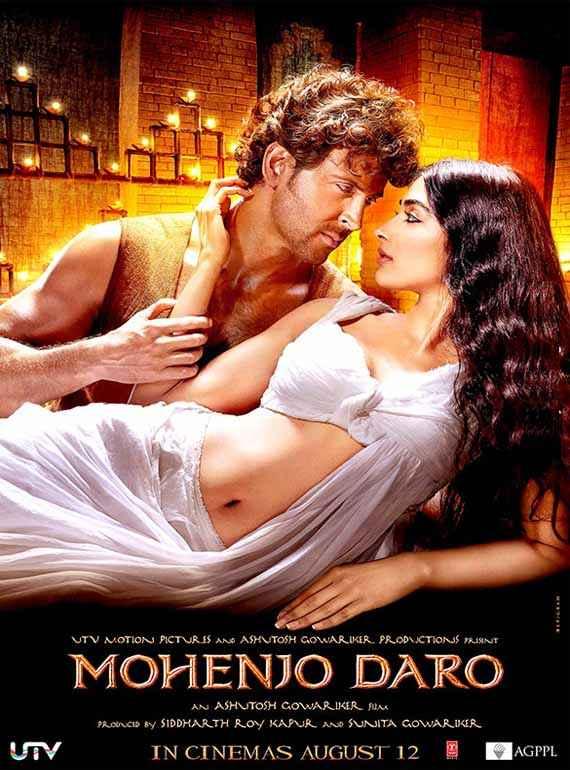 Mohenjo Daro Hrithik Roshan Pooja Hegde Poster