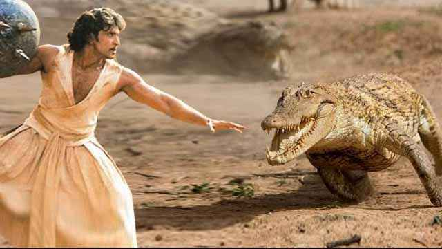 Mohenjo Daro Hrithik Roshan Fighting with Animals Stills