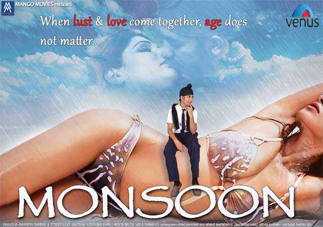 Monsoon Srishti Sharma Hot Bikini Poster