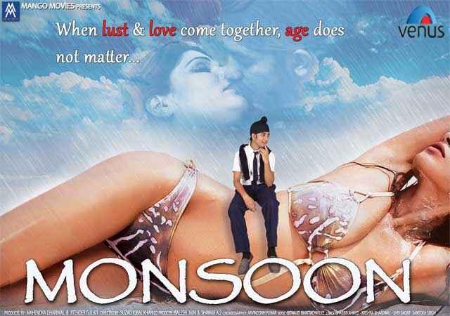 Monsoon Srishti Sharma Hot Bikini Poster