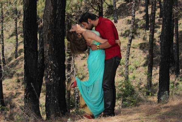 Monsoon Srishti Sharma Shawar Ali Hot Romance Scene Stills