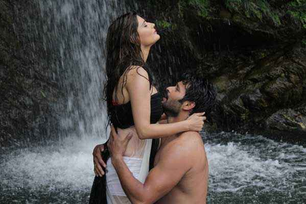 Monsoon Srishti Sharma Shawar Ali Hot Scene Stills