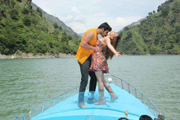 Monsoon Srishti Sharma Shawar Ali Kissing Stills