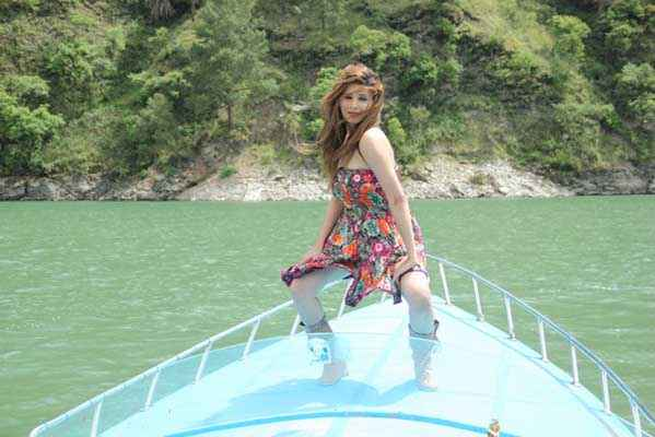 Monsoon Srishti Sharma Short Dress Stills