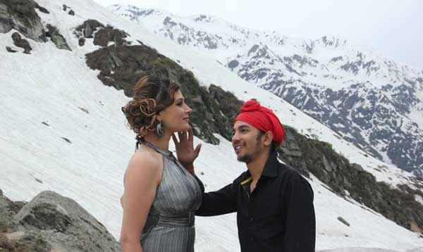 Monsoon Srishti Sharma Sudhanshu Aggarwal Romantic Pics Stills